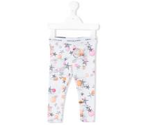 star print leggings - kids - Baumwolle/Elastan