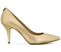 pointed slip on pumps