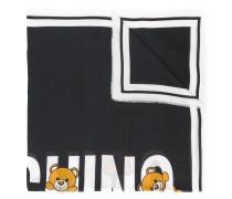 printed teddy scarf