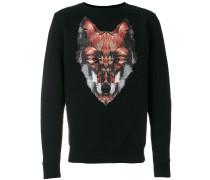 Sweatshirt mit Fuchs-Print