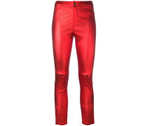 'Julias' Metallic-Lederhose - women