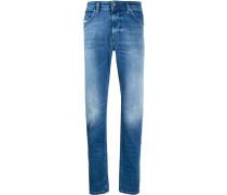Ausgeblichene Skinny-Jeans