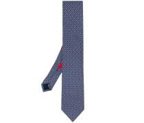 Krawatte mit Kartenspielmuster
