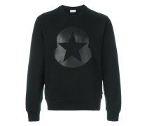 Sweatshirt mit Stern-Print