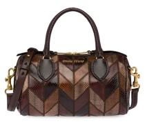 Handtasche im Patchwork-Design