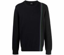 Fein gestreifter Pullover