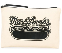 logo hot dot printed pouch