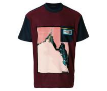 mountain print T-shirt