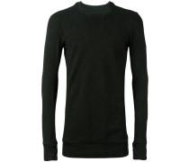 Sweatshirt mit Kragendetail