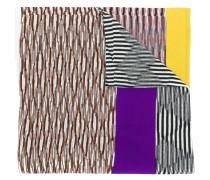 striped colourblock scarf