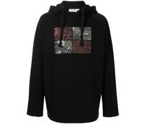 seasonal raglan hoodie