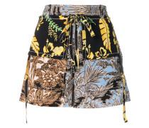 Shorts im Patchwork-Look