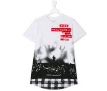 T-Shirt mit Konzert-Print - kids - Baumwolle