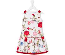 Kleid mit Blumen-Print - kids - Baumwolle - 4 J.