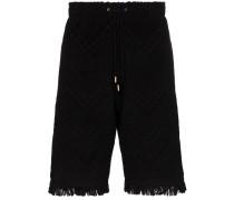 Gemusterte Frottee-Shorts