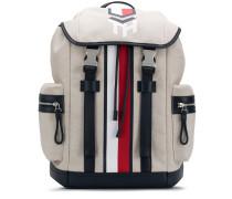 Canvas-Rucksack mit Streifen