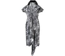Kleid mit grafischem Print