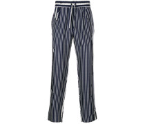 Brucite striped trousers