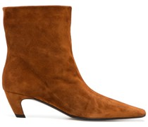 brown Arizona 50 suede ankle boots
