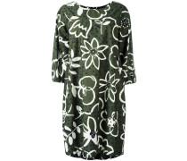 Florales Oversized-Kleid - women - Baumwolle