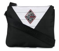 zipped messenger bag
