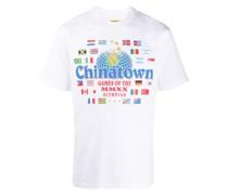 "T-Shirt mit ""Chinatown""-Print"