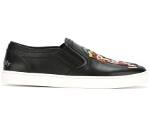 Slip-On-Sneakers mit Familien-Patch