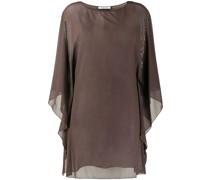 Camisole-Kleid mit Sheer-Effekt
