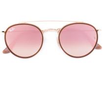 Runde Sonnenbrille mit rosa Gläsern - unisex