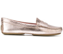 classic metallic loafers