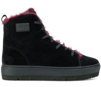 hi-top lace up sneakers