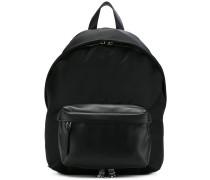 logo strap backpack