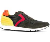 rubber-trimmed sneakers - men