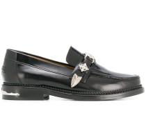 Loafer mit niedrigem Absatz