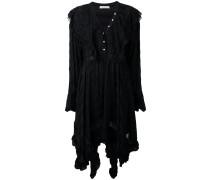 Asymmetrisches Kleid mit Rüschen - women