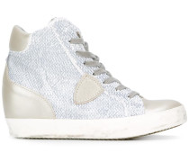 - High-Top-Sneakers mit Patch - women