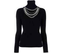 Pullover mit Halsketten