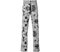 Barocco Instante print trousers