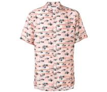 Hemd mit Hai-Print