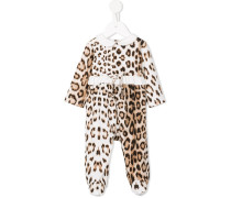 Pyjama mit Leopardenmuster