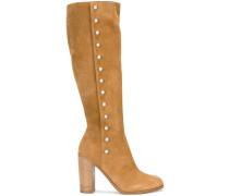 Stiefel mit silberfarbenen Nieten - women