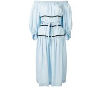 Schulterfreies Kleid - women - Tencel - 42