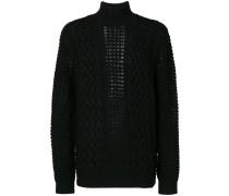 knitted turtlneck jumper