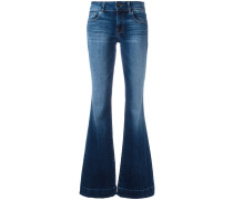 'Love Story Back Heel Destruction' Jeans