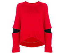 cut-out detail sweater