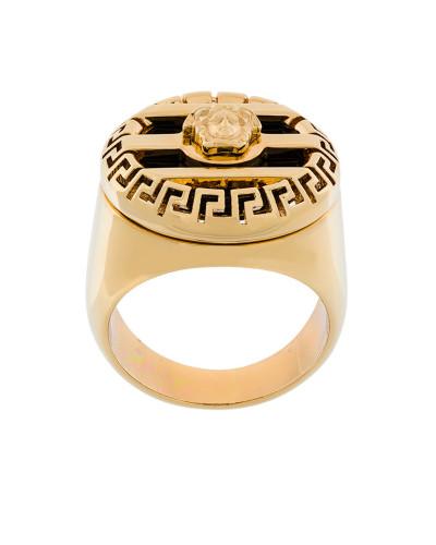 '3d Greek Key Medusa' Ring