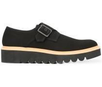 Monk-Schuhe mit geriffelter Gummisohle