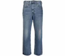 Klassische Cropped-Jeans