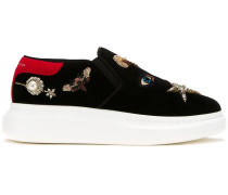 'Obsession' Sneakers mit breiter Sohle