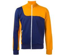 Zweifarbige Sweatshirtjacke